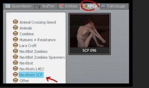 Garry s Mod SCP 096