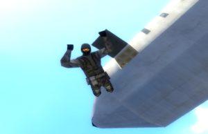 Гаррис мод военная карта с прыжками из самолета