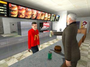 McDonalds в Гаррис моде