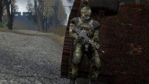 Контент пак Сталкер солдат