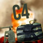 Взрывчатка C4 из Call of Duty: Black Ops