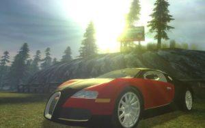 Bugatti Veyron - очень быстрая малышка