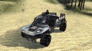 Автомобиль из Borderlands 2