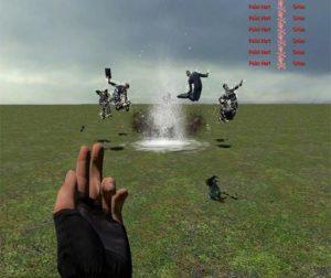 Водяной взрыв - одним щелчком пальцев