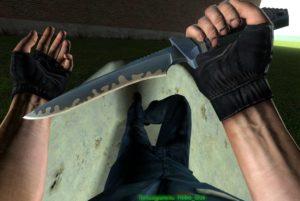 Суицидальный нож в гаррис моде