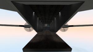 «The Titan» - внутри летящего самолета