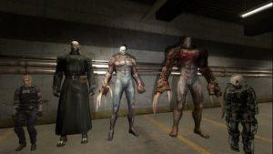 Мистер X - плеермодели Тирана из Resident Evil 2