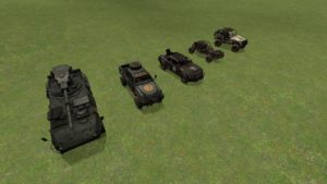 Постапокалиптические авто в стиле Half Life 2