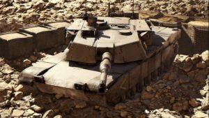 Танк M1A1 Abrams