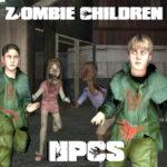 Дети зомби «Zombie Children NPCs»