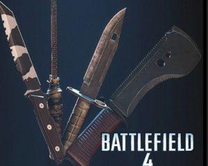 Battlefield 4 - набор ножей