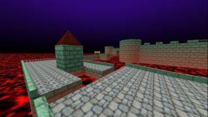 Карта Mario 64 - замок Bowser's