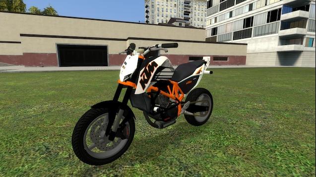 Байк KTM Duke 690