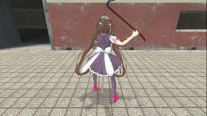 Chocola из игры Nekopara плеер модель и NPCs