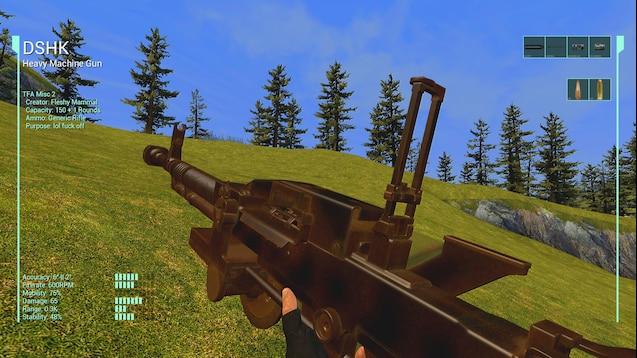 Пулемет DSHK (ДШК)