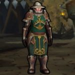Kul Tiran Guard из World of Warcraft плеермодель