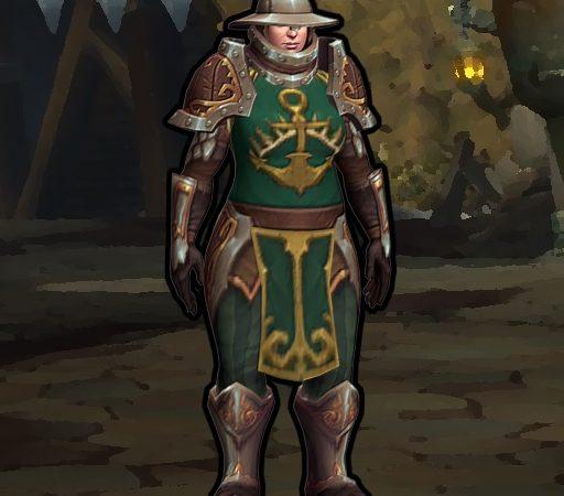 Kul Tiran Guard из World of Warcraft плеермодель