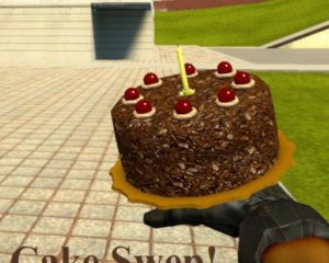 Cake SWEP - торт который прибавляет по 45 HP за 1 укус