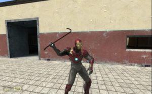 Костюм Железного человека Mark-47