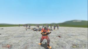 Pyro из Team Fortress 2 [ PM / NPC / Ragdoll ]