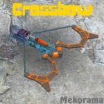 MekoCrossbow SWeP — футуристический арбалет стреляющий ракетами