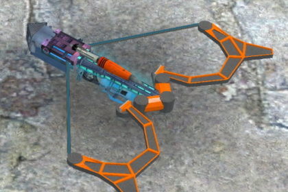 MekoCrossbow SWeP - футуристический арбалет стреляющий ракетами