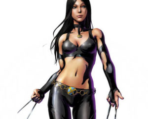X-23 из Marvel VS Capcom плеермодель