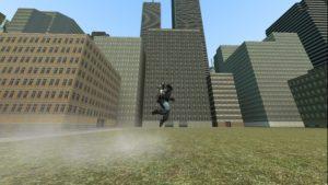 Джетпак из GTA San Andreas