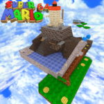 Карта Super Mario 64 — Whomp's Fortress