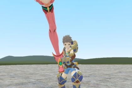 Pyra Leg - огненный клинок из игры Xenoblade Chronicles 2