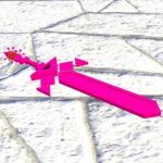 Зеркальный меч в стиле аниме — The Geometry Sword