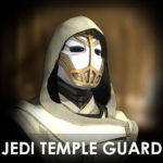 Стражник храма Джедаев плеермодель