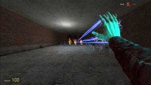 Электро плазмид (электрический разряд из руки) из BioShock