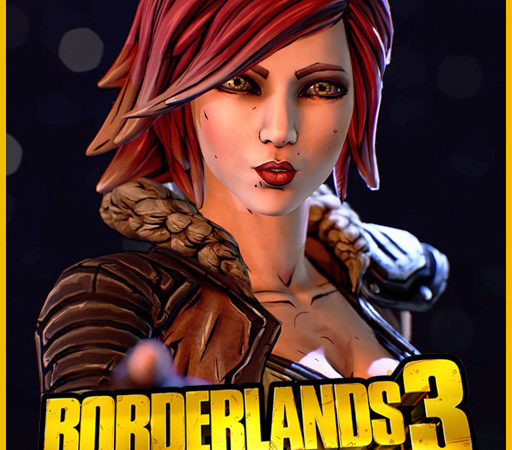 Лилит из Borderlands 3 плеермодель и НПС