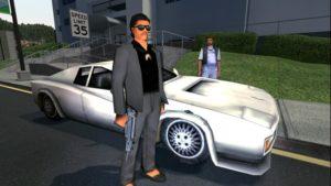 GTA Vice City полицейские и бандиты