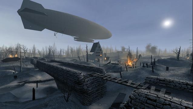 Карта ww_lux_realism - поле боя 1 мировой войны