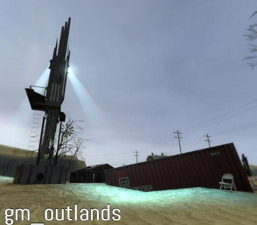Gm_outlands карта для сражений 6 команд