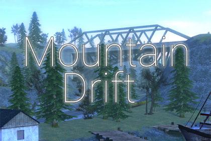 Карта для дрифта в горах