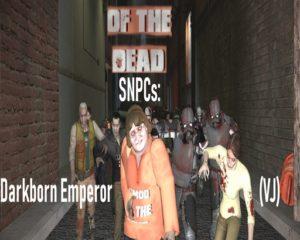 SNPCs зомби, мертвецов и зараженных
