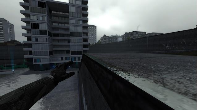 Mantle + Wallrun паркур (хватание за край крыши и бег по стенам)