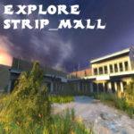 Gm_explore_strip_mall заброшенный торговый центр в лесу