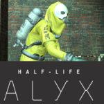 Плеермодель из Half-Life: Alyx в защитном комбинезоне