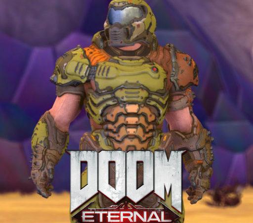 DooM Eternal - Doom Slayer плеермодель