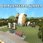 Gm Rustheart Summer карта с извилистыми дорогами для отработки навыка вождения