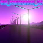 GM_synthwave_v2 карта в неоновом стиле