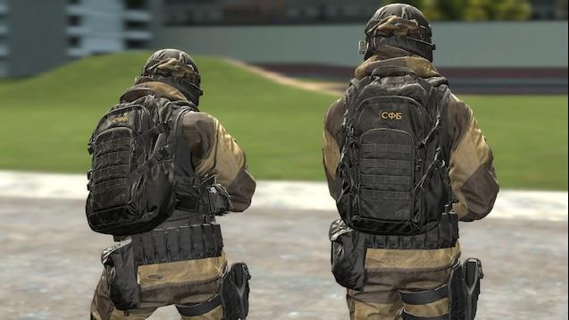 Call of Duty Modern Warfare - Allegiance Operator плеермодель и НПС