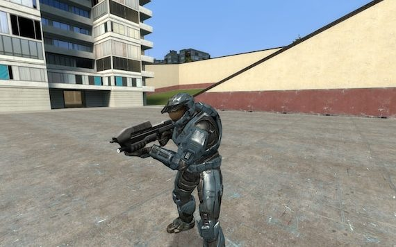 Halo Reach - Анимированные игровые модели