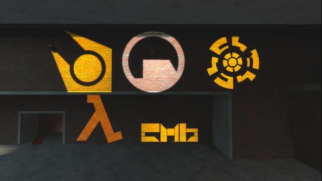 Лампы с логотипами из игр Valve