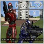 Halo Reach — Анимированные игровые модели