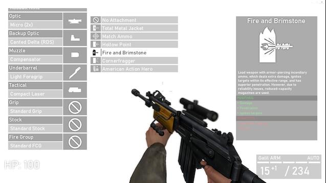 Arctic's Customizable Weapons - кастомизируемое оружие